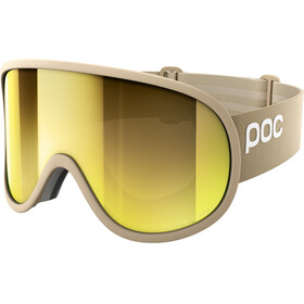 POC Retina Big Clarity Goggles Rhodium Beige/Spektris Gold
